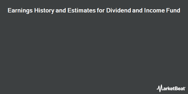 Earnings by Quarter for Dividend Andome Fund (NYSE:DNI)