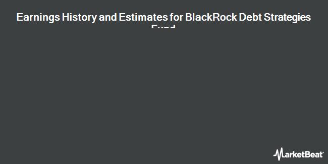 Earnings by Quarter for BlackRock Debt Strategies Fund (NYSE:DSU)