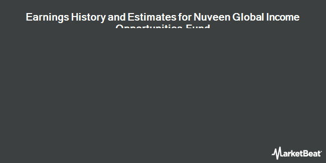 Earnings by Quarter for Nuveen Global Income Opportunities Fund (NYSE:JGG)