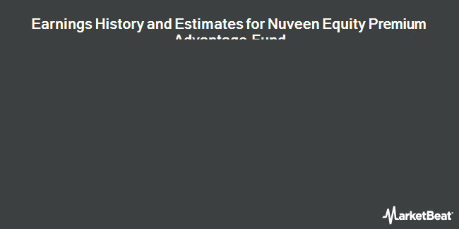 Earnings by Quarter for Nuveen Equity Premium Advantage Fund (NYSE:JLA)