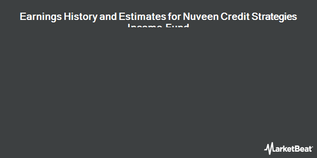 Earnings by Quarter for Nuveen Credit Strategies Income Fund (NYSE:JQC)