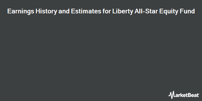 Earnings by Quarter for Liberty All-Star Equity Fund (NYSE:USA)