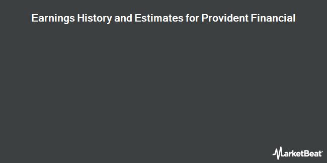 Earnings History and Estimates for PROVIDENT FINL/S (OTCMKTS:FPLPY)