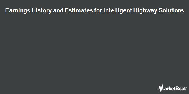 Earnings by Quarter for Intelligent Highway Solutions (OTCMKTS:IHSI)