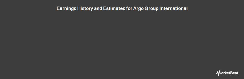 Earnings by Quarter for Argo Group (NASDAQ:ARGO)