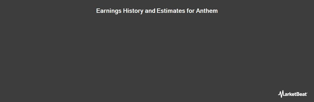 Earnings by Quarter for Anthem (NYSE:ANTM)