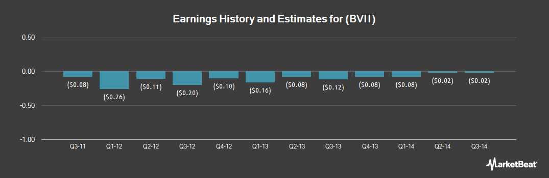 Earnings by Quarter for Broadview Institute (OTCMKTS:BVII)