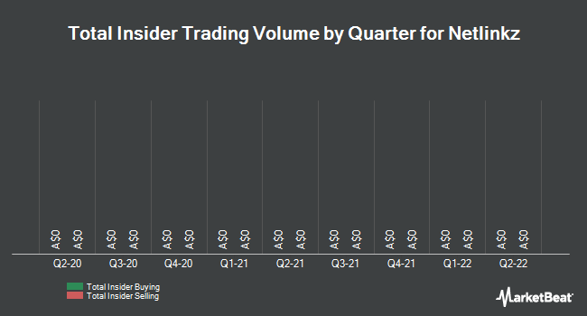 Insider Buying and Selling by Quarter for Netlinkz (ASX:NET)