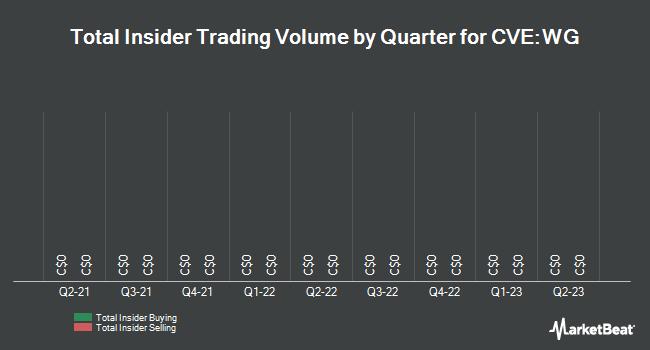Insider Trades by Quarter for Wellgreen Platinum (CVE:WG)
