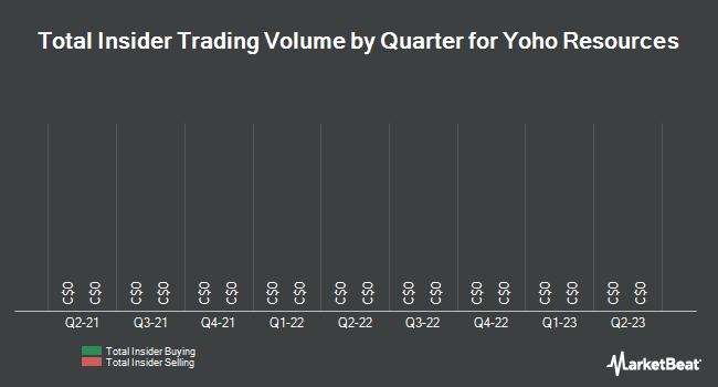 Insider Trading History for Yoho Resources (CVE:YO)