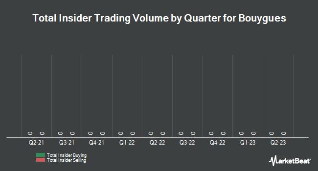 Insider Trading History for Bouygues (EPA:EN)
