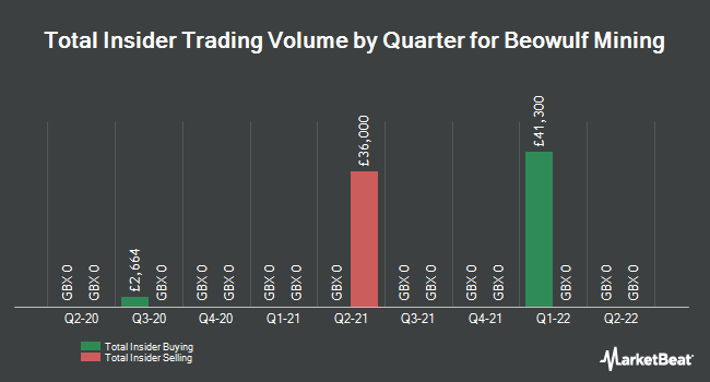 Insider Trades by Quarter for Beowulf Mining plc (LON:BEM)