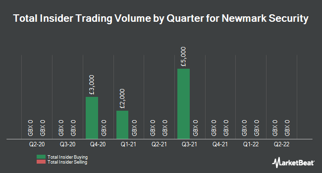 Insider Trading History for Newmark Security (LON:NWT)