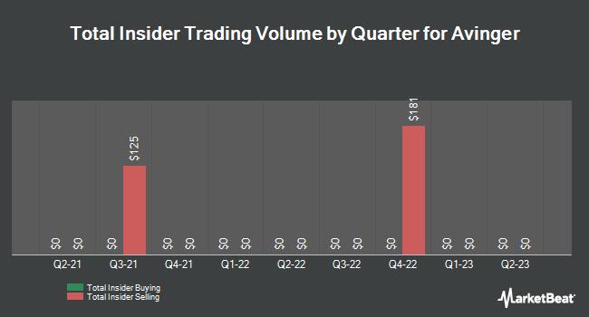 Insider Trades by Quarter for Avinger (NASDAQ:AVGR)