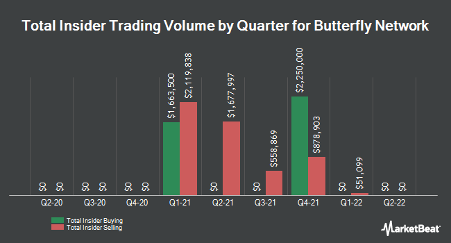 Insider Trades by Quarter for Bluefly (NASDAQ:BFLY)