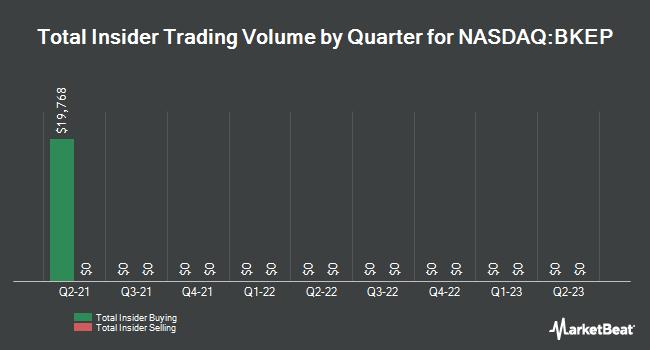 Insider Trades by Quarter for Blueknight Energy Partners L.P., L.L.C. (NASDAQ:BKEP)
