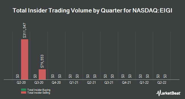 Insider Trades by Quarter for Endurance International Group Holdings (NASDAQ:EIGI)