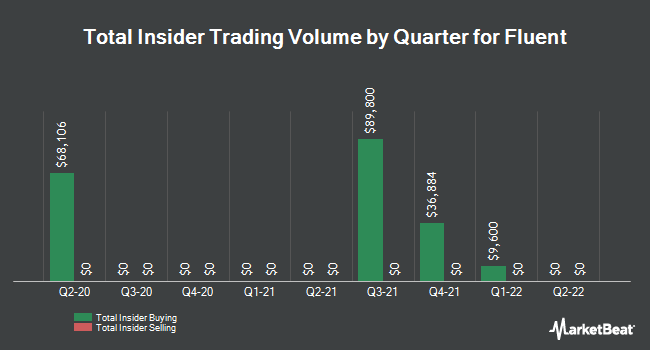 Insider Buying and Selling by Quarter for Fluent (NASDAQ:FLNT)