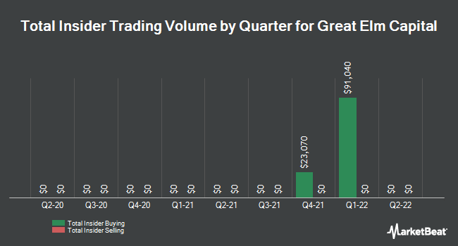 Insider Buying and Selling by Quarter for Great Elm Capital (NASDAQ:GECC)