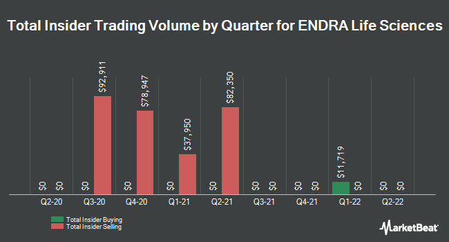 Insider Buying and Selling by Quarter for ENDRA Life Sciences (NASDAQ:NDRA)