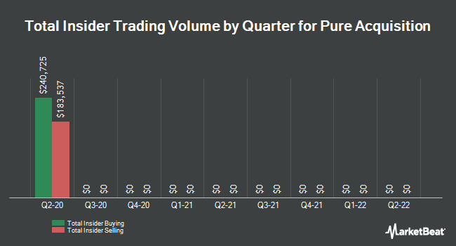 Insider Buying and Selling by Quarter for Pure Acquisition (NASDAQ:PACQ)