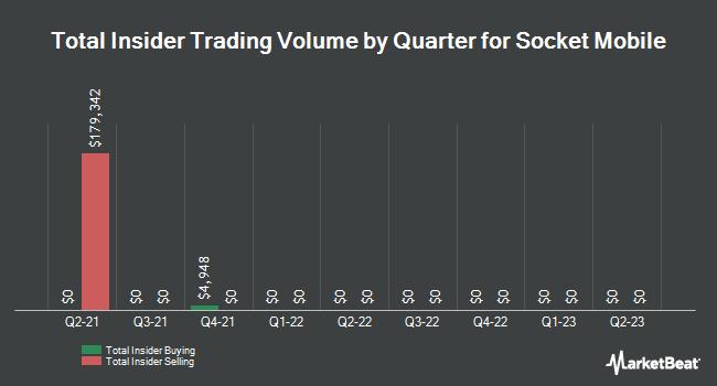 Insider Trades by Quarter for Socket Mobile (NASDAQ:SCKT)
