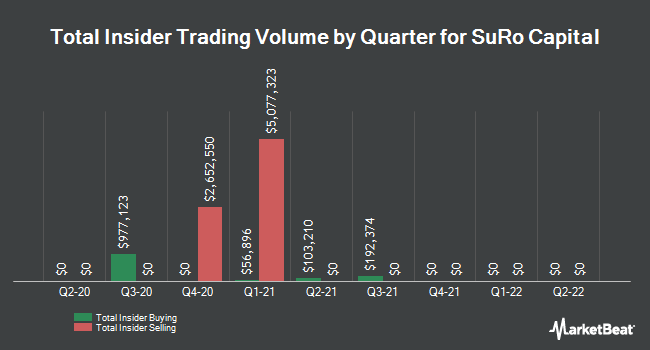 Insider Buying and Selling by Quarter for Sutter Rock Capital (NASDAQ:SSSS)
