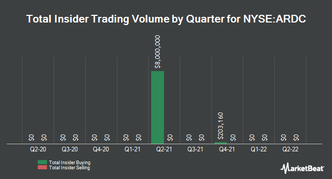 Insider Trades by Quarter for Ares Dynamic Credit Allocation Fund (NYSE:ARDC)
