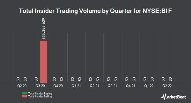 Insider Trading History for Boulder Growth & Income Fund Inc common stock (NYSE:BIF)