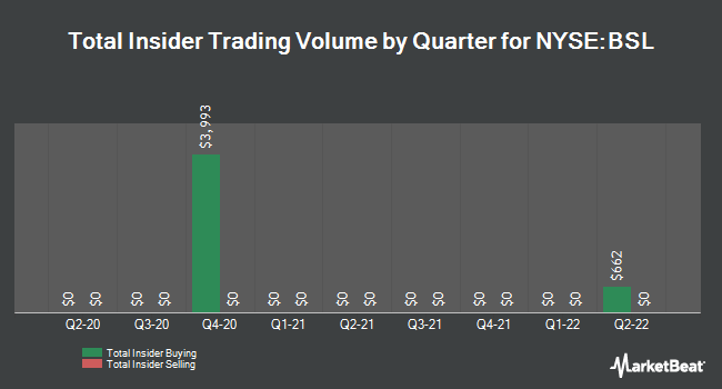Insider Trades by Quarter for Blackstone/GSO Senior Fltg Rt Term Fund (NYSE:BSL)