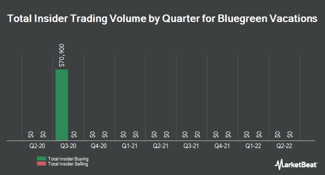 Insider Trades by Quarter for Bluegreen Vacations (NYSE:BXG)