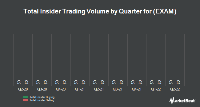 Insider Trades by Quarter for Examworks Group (NYSE:EXAM)