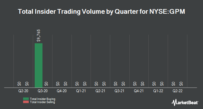 Insider Trades by Quarter for Guggenheim Enhanced Equity Income Fund (NYSE:GPM)