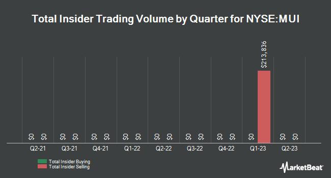 Insider Trades by Quarter for Blackrock Muni Intermediate Drtn Fnd (NYSE:MUI)
