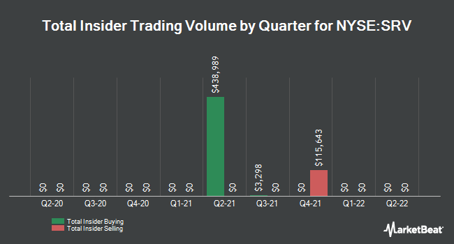 Insider Trades by Quarter for Cushing MLP Total Return Fund (NYSE:SRV)