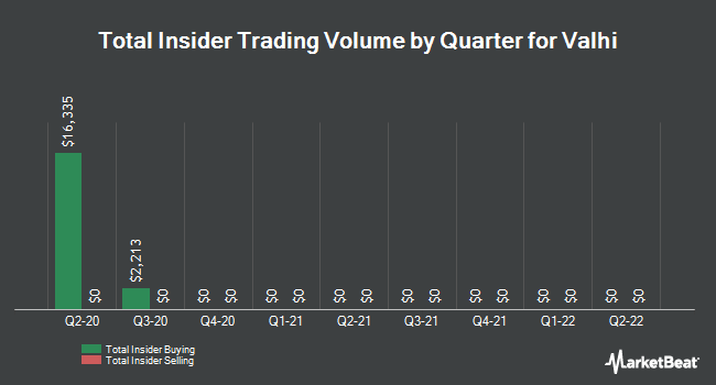 Insider Trades by Quarter for Valhi (NYSE:VHI)