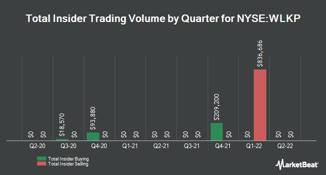 Insider Trades by Quarter for Westlake Chemical Partners LP (NYSE:WLKP)