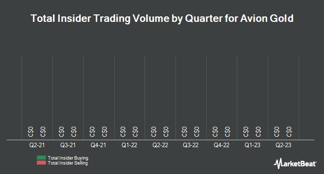 Insider Trading History for Avion Gold (TSE:AVR)