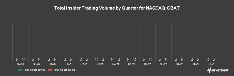 Insider Trading History for CBAK Energy Technology (NASDAQ:CBAT)