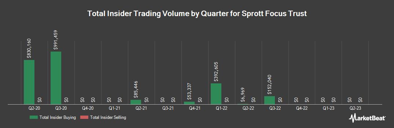 Insider Trading History for Sprott Focus Trust (NASDAQ:FUND)