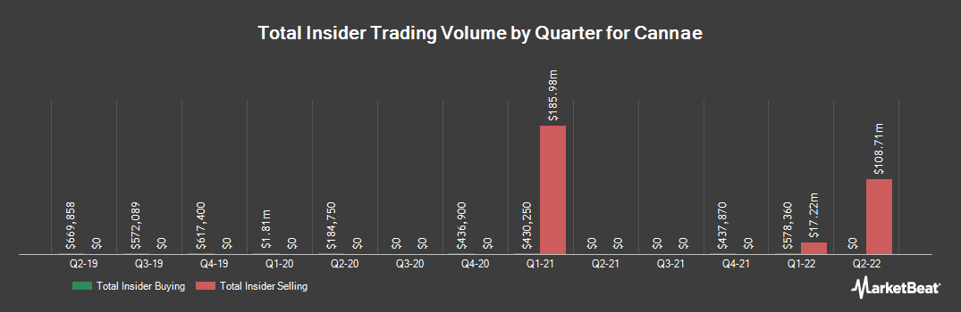 Insider Trading History for Cannae (NYSE:CNNE)