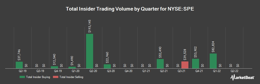 Insider Trading History for Special Opportunities Fund (NYSE:SPE)