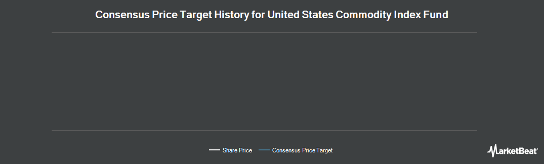 Price Target History for United States Commodity Index Fund ETV (NYSEARCA:USCI)