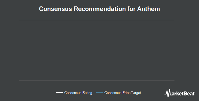 Analyst Recommendations for Anthem (NYSE:ANTM)