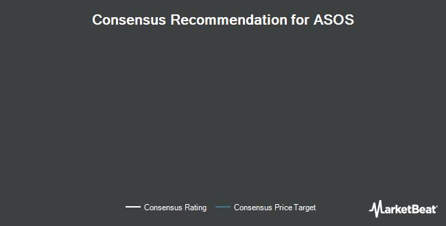 Analyst Recommendations for ASOS (OTCMKTS:ASOMF)