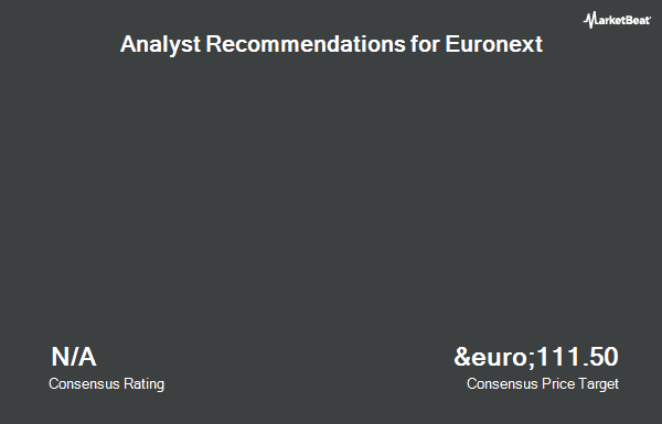 Analyst Recommendations for Euronext (EPA:ENX)
