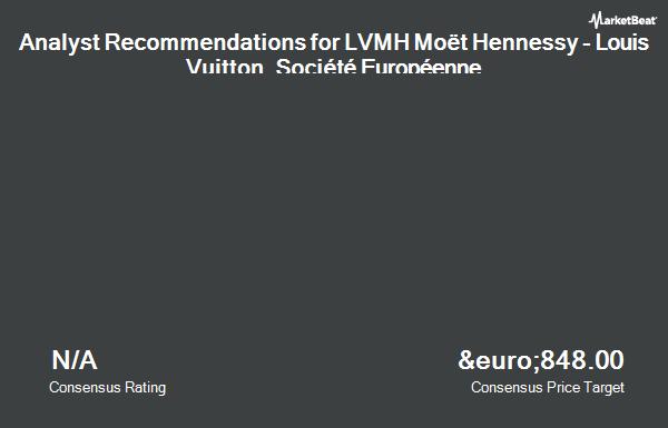 Analyst Recommendations for LVMH Moët Hennessy - Louis Vuitton, Société Européenne (MC.PA) (EPA:MC)