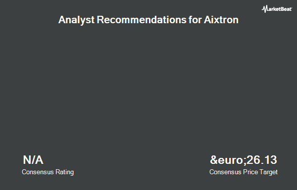 Analyst Recommendations for Aixtron (ETR:AIXA)