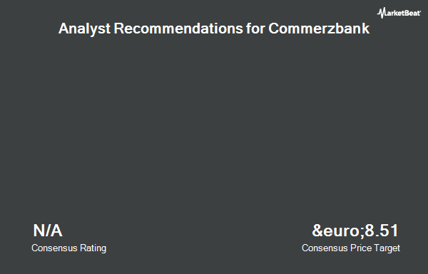 Analyst Recommendations for Commerzbank (ETR:CBK)