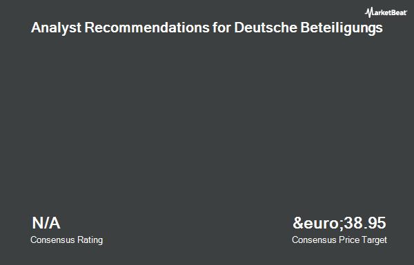 Analyst Recommendations for Deutsche Beteiligungs (ETR:DBAN)